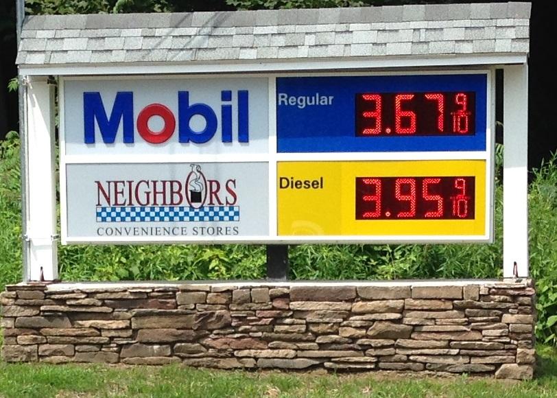 Ashfield Mobil Gas station